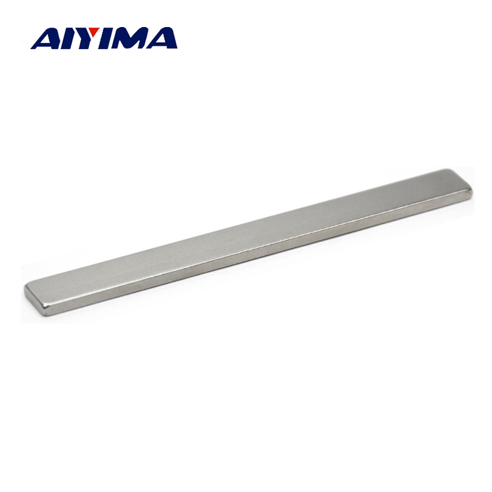 Aiyima 1pcs 100mm x 10mm x 3mm Super Powerful Rare Earth Neodymium Magnets 100*10*3mm Rectangular Strip Magnet Craft Magnetite наушники pioneer hdj 700 n gold