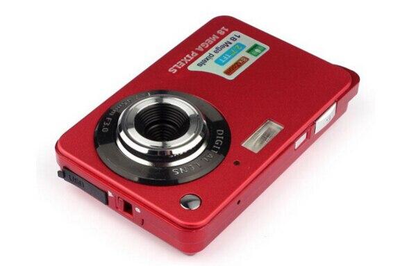 18 мегапикселей 2.7 дюймов Экран TFT жк-дисплей 720 р HD цифровой видео рекордер камера 8-кратный цифровой зум анти-толчка 3 sytles лаки