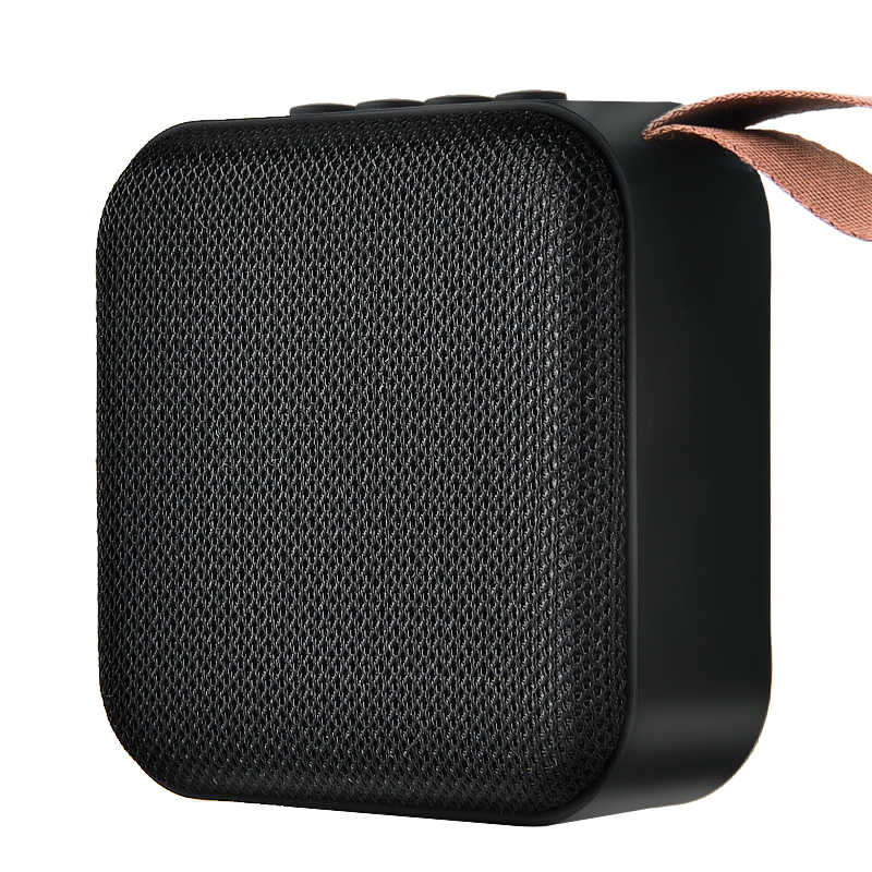 Hanxi T5 Nirkabel Bluetooth Mini Speaker Stereo Portable Speaker Subwoofer Bluetooth 4.2 dengan Sd FM Outdoor Kolom Loudspeaker