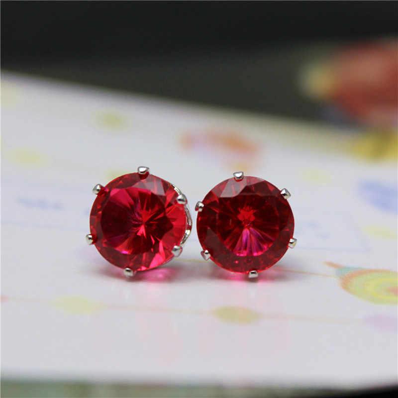 2019 neue marke schmuck luxus österreichischen kristall ohrringe für frauen godl für frauen stud ohrringe für mädchen geschenk