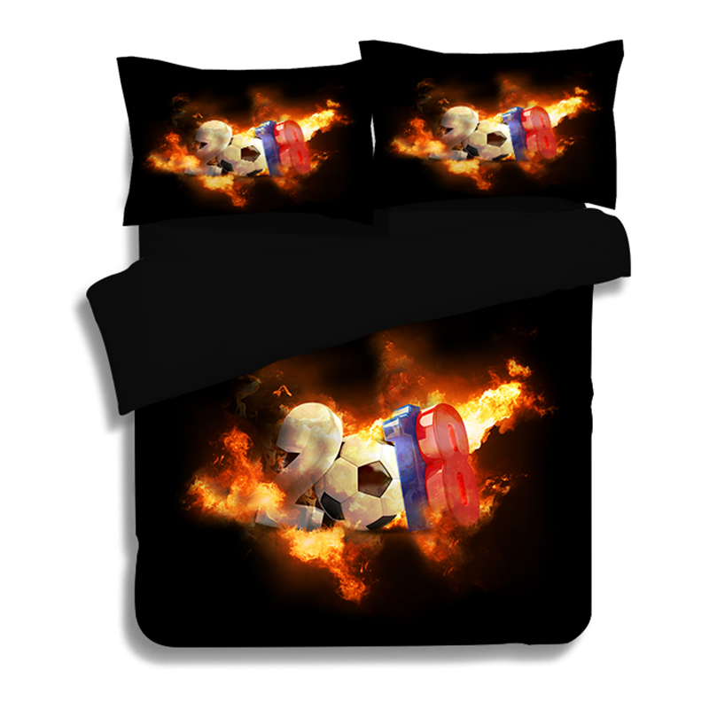 2018 3D Football Basketball Printed Bedding Set Twin/Full/queen/king Size Single  luxury Duvet Cover Pillowcase for Kids 3pcs2018 3D Football Basketball Printed Bedding Set Twin/Full/queen/king Size Single  luxury Duvet Cover Pillowcase for Kids 3pcs
