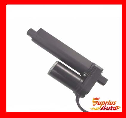 2017 New Products Miniature Travel 30mm 12 / 24V DC 3500N / 350KGS Black Heavy Duty Linear Actuators with 8mm / s Velocity