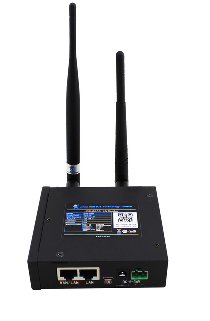 USR-G806 Cheap Industrial LTE 4G Router Support WiFi Network