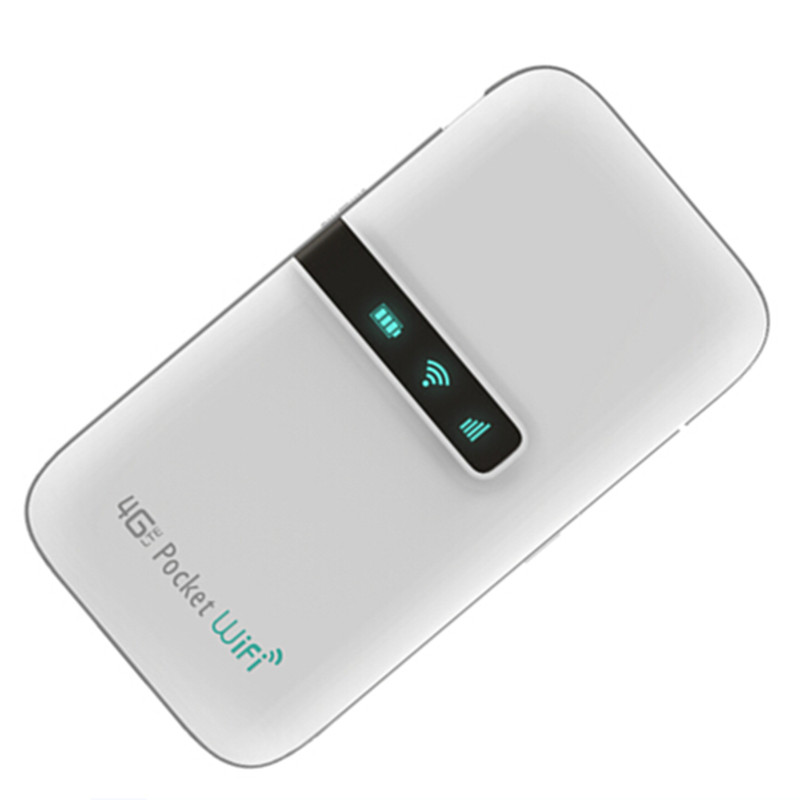 MINI 3G 4G WIFI Router 4G LTE Wireless Router With SIM Card Slot 4000mAH Power Bank Support 850 / 900 / 2100MHz For Travel