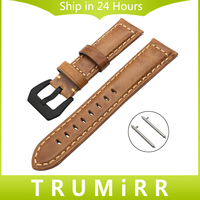 Italy Genuine Oil Leather Watchband For Fossil Q Founder Wander Crewmaster Grant Marshal Explorist Smart Watch