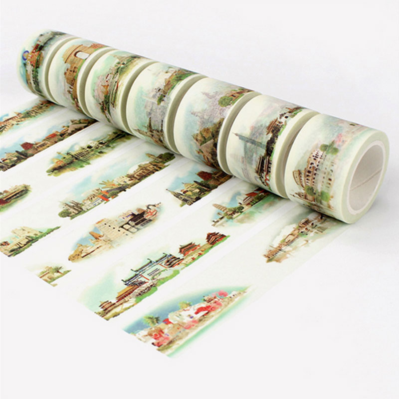 3cm*8m Have Your Country Washi Tape DIY Decorative Scrapbooking Planner Masking Adhesive Tape Kawaii Label Sticker Stationery