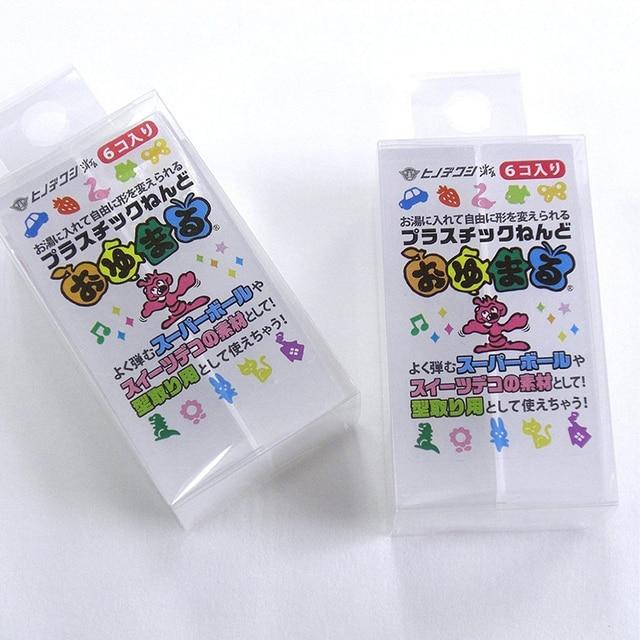 Résine plastique en résine 3G modèle japonais | hinodewashi OYUMARU résine libre, résine de chiffre libre, instamorph plastimake modèle dargile céramique douce