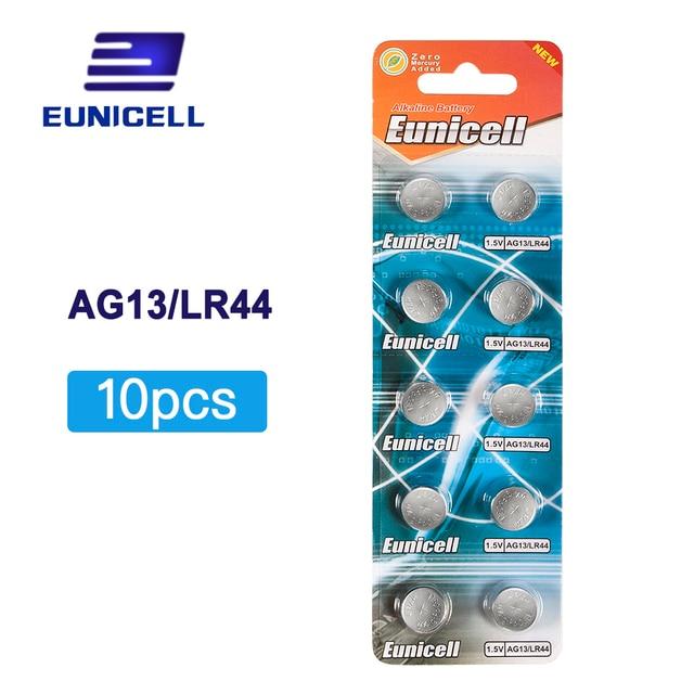 חם למכור 10pcs AG13 ag 13 357A Pila LR44 SR44 lr44 ליתיום כפתור לחצן סוללות 1.5V AG 13 אלקליין EE6214 LR1154