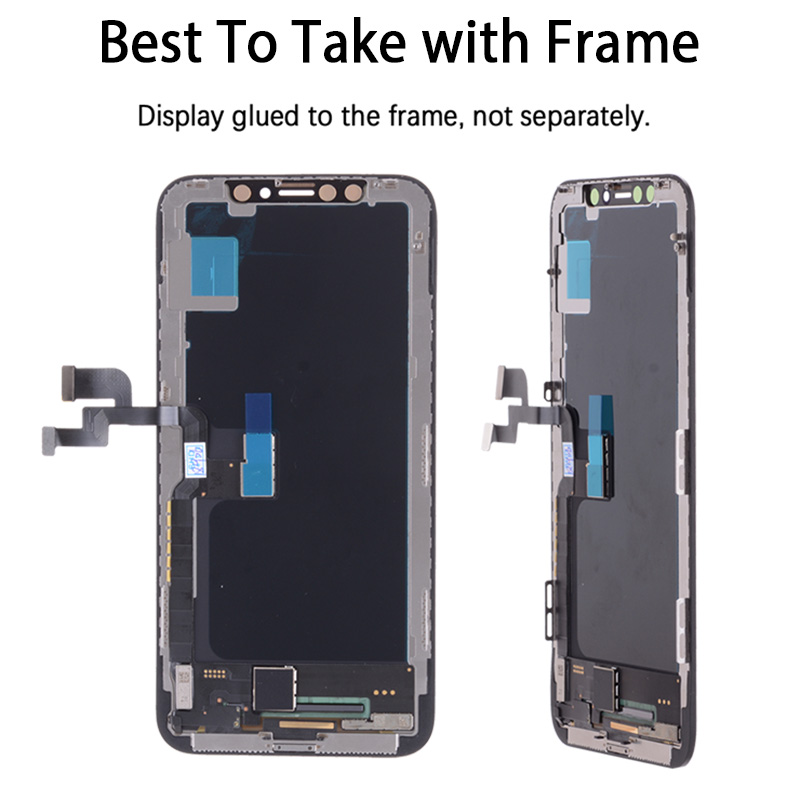 Assembly with Frame Replacement 5.8 inch AMOLED Display LCD Module Touch Screen For iPhone X