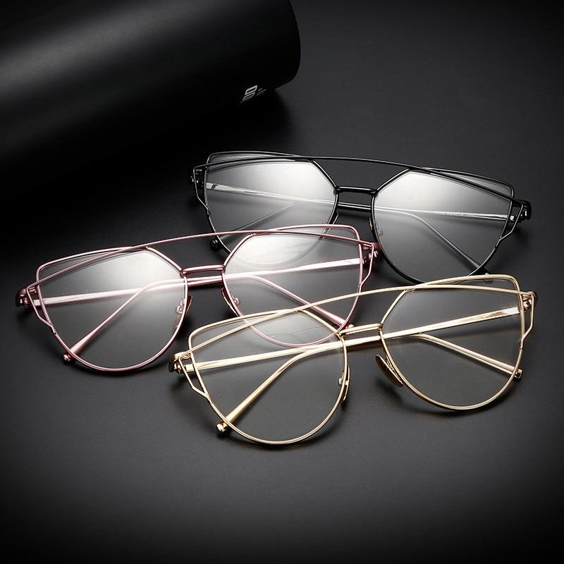Syzet e kornizës prej metali prej ari për gratë për syzet femra - Aksesorë veshjesh - Foto 6