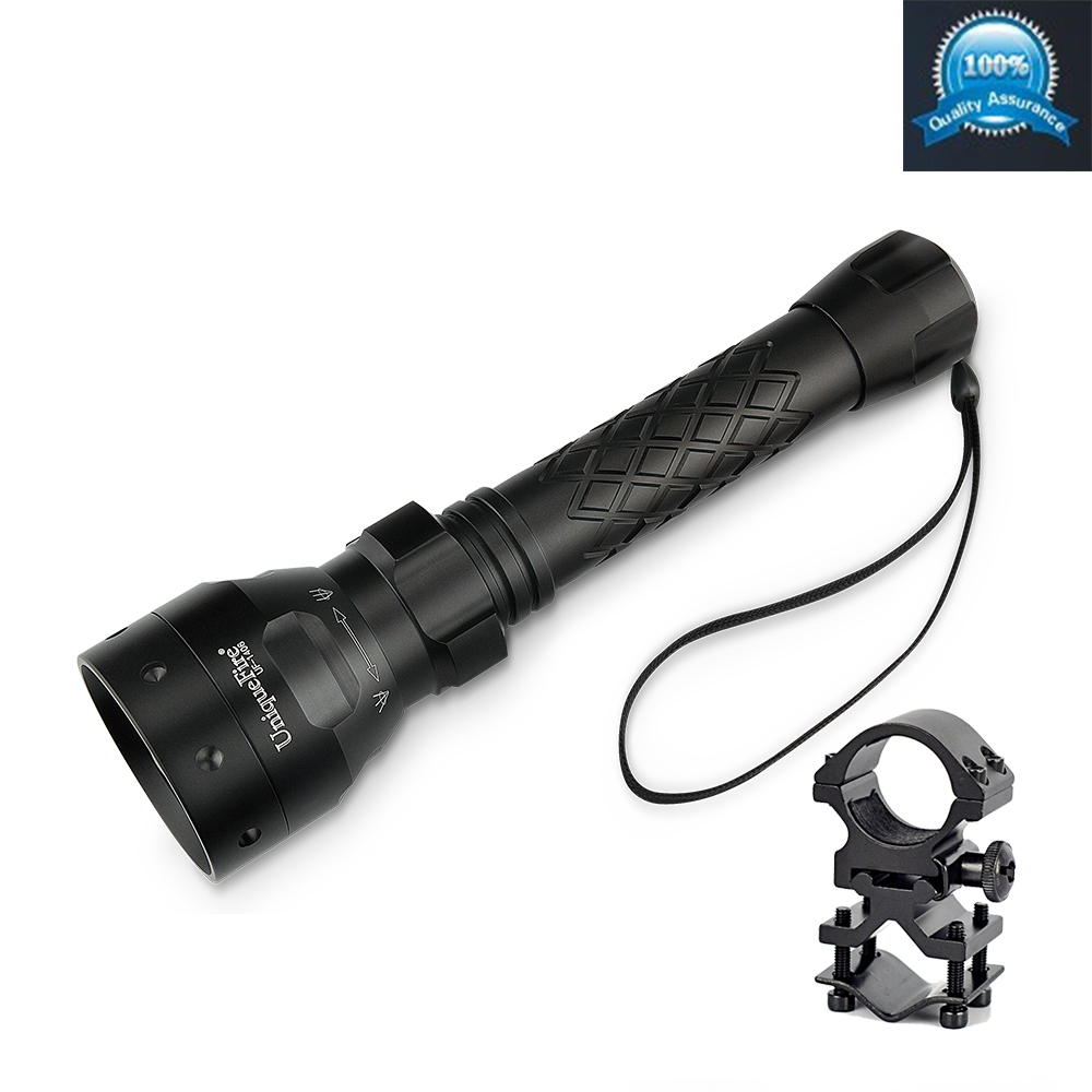 Hunting Light Uniquefire 1406 XRE Green /Red Light LED Flashlight Waterproof Single File For Outdoor Free Ship