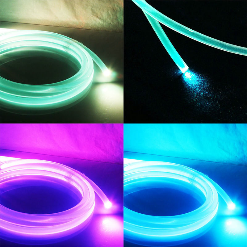 100m Pmma Side Glow Fiber Optic Cable 5mm Car Home Diy Led Lighting Hanging Lamp Curtain Car Home Swimming Pool Decor-rgb dia.