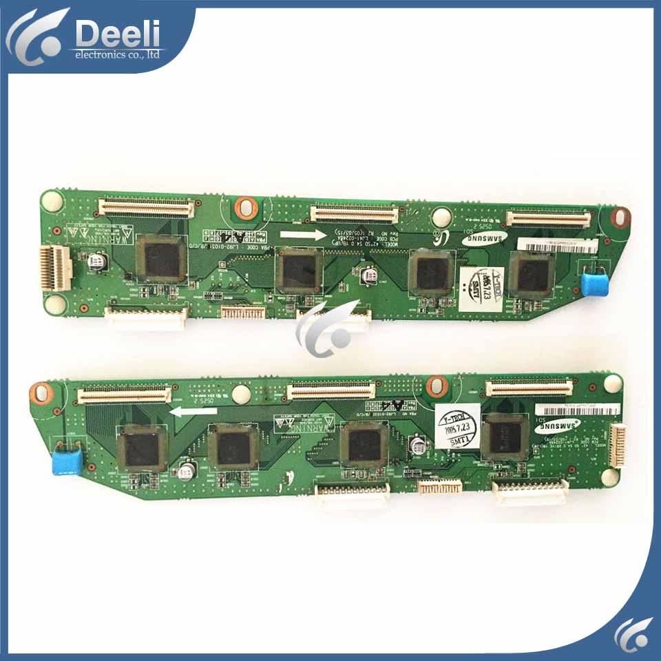 все цены на good Working Buffer Board S42SD-YD07 LJ41-02248A LJ41-02249A LJ92-01032A used board онлайн