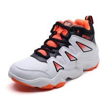 Man High-top Jordan Shoes Men's Cushioning Light  Women Sneakers Anti-skid Breathable Outdoor  Shoes