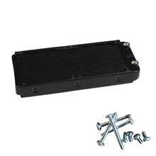 NOYOKERE 240mm G1/4 Aluminum Computer Radiator Water Cooling For CPU LED Heatsink