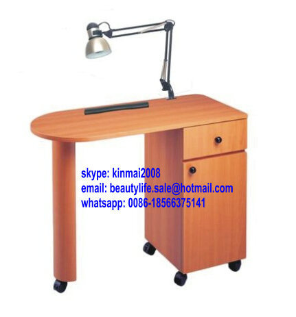 professional wooden nail salon furniture nail technician tables ...