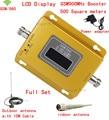 Display LCD! gsm repetidor 900 mhz gsm 900 signal booster, cell phone signal booster repetidor amplificador + antena Otário
