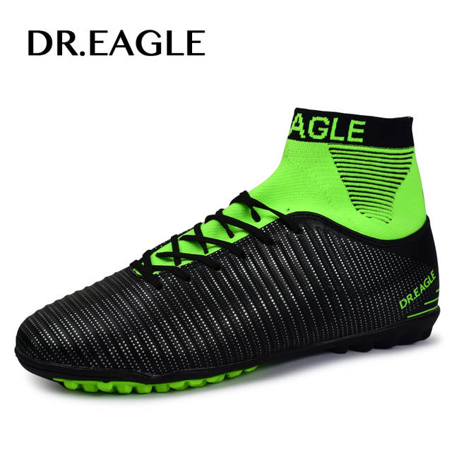 ÁGUIA TF turf Indoor alta tornozelo Meias com sapatos chuteiras de futebol  sapatos 6f71db405c040