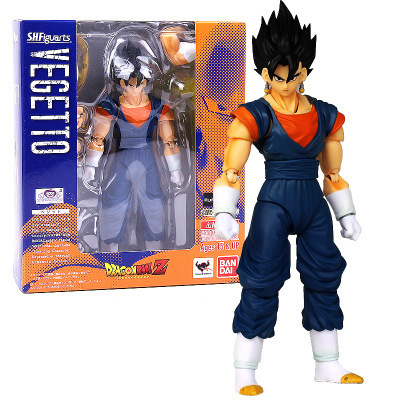 SHF Figuarts Super Saiyan Vegetto Dragon ball Z Son Goku Gokou Mix Vegeta PVC Action Figure Collection Model Kids Toy Doll dragon ball z broli 1 8 scale painted figure super saiyan 3 broli doll pvc action figure collectible model toy 17cm kt3195