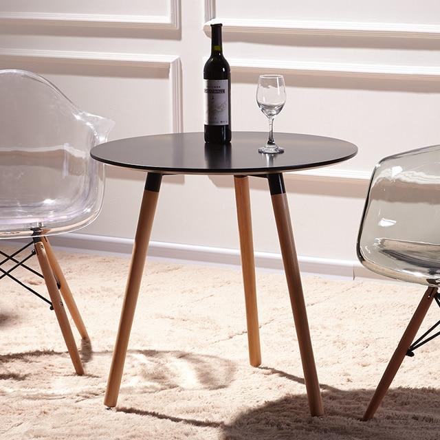 Ikea Eamois Table Ronde Pour Discuter De Combinaison Tables Et Des Chaises  De Café Moderne Minimaliste