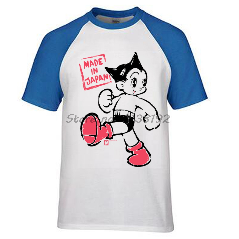 c7824216d5ad5 Astro Boy Target Mens brand t Shirt raglan cotton male top tees ...