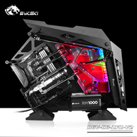 BYKSKI Acrylic Board Water Channel Solution use for COUGAR Conqueror Computer Case for CPU and GPU Block / RGB / Combo DDC Pump