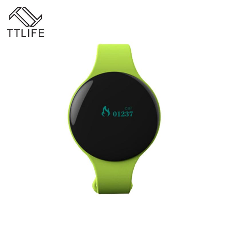 Prix pour Ttlife bluetooth 4.0 intelligente bracelet step counter clock sport activité fitness tracker smart watch appel rappeler bracelet à puce
