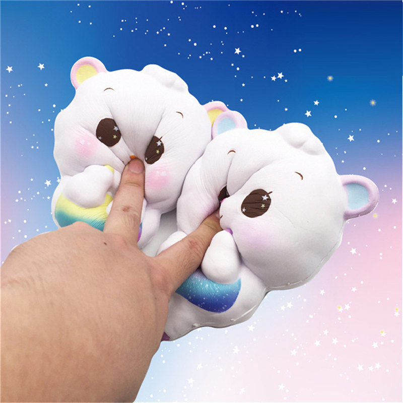 Lovely 2018 New 1pc Steamed Bread Squishy Super Jumbo Scented Slow Rising Rare Fun Toy Apr23 Toys & Hobbies
