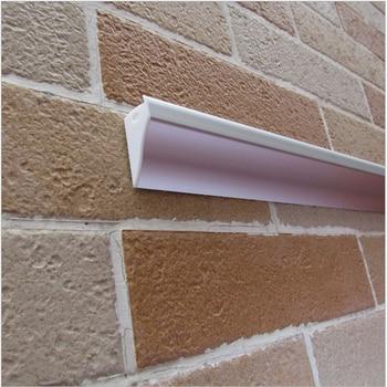 15 adet/grup 100 inç 2.5 m/adet led alüminyum profil için 12mm şerit, duvara monte ışık aşağı led lineer şerit konut, duvar bar ışığı