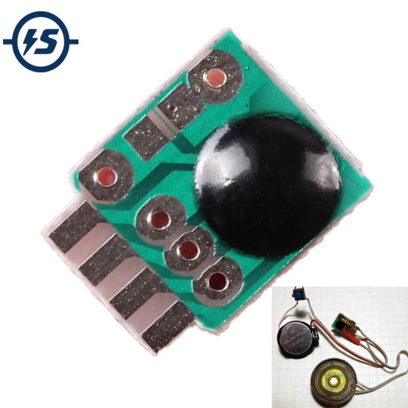 10 Pcs Sirene Musik Integrasi Modul 3V Alarm Suara Suara Modul Chip Polisi Musik untuk DIY/Mainan