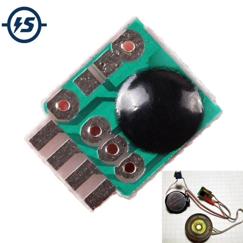 Sound Module For Toy IC Chip 10pcs Siren Music Integration Module 3V Alarm Voice Sound Chip Module Police Music For DIY/Toy