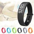 Excelente calidad nuevo smart pulsera pulsera inteligente podómetro sleep tracker termómetro seguidor inteligente smart watch para la muchacha