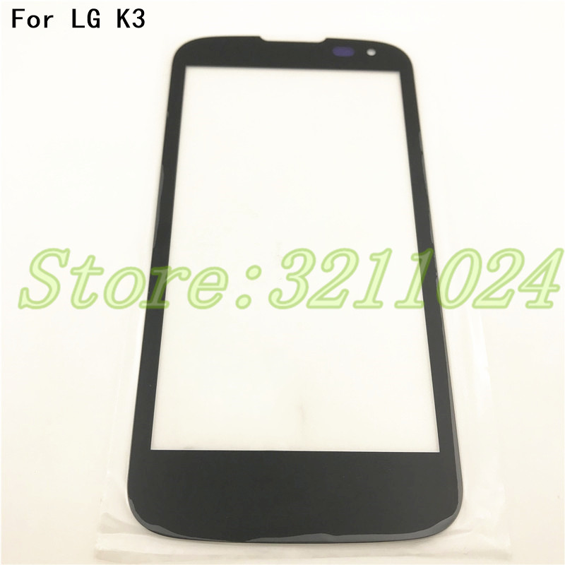 4.5'' Front Screen Outer Glass Touch Outer Cover Panel LENS For <font><b>LG</b></font> K3 LTE <font><b>K100</b></font> K100DS LS450 Touchscreen +Tools image