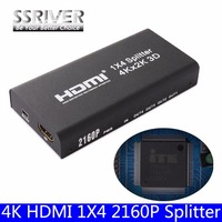 4K HDMI 1x4 2160P Splitte Full HD 1080P Amplifier HDMI Switch Switcher 1 In 2 4