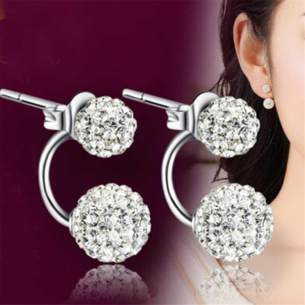 Marke silber ohrringe Shambhala luxus zirkonia ohrringe weibliche beliebte original marke von high-end-vintage ohrringe Heißer