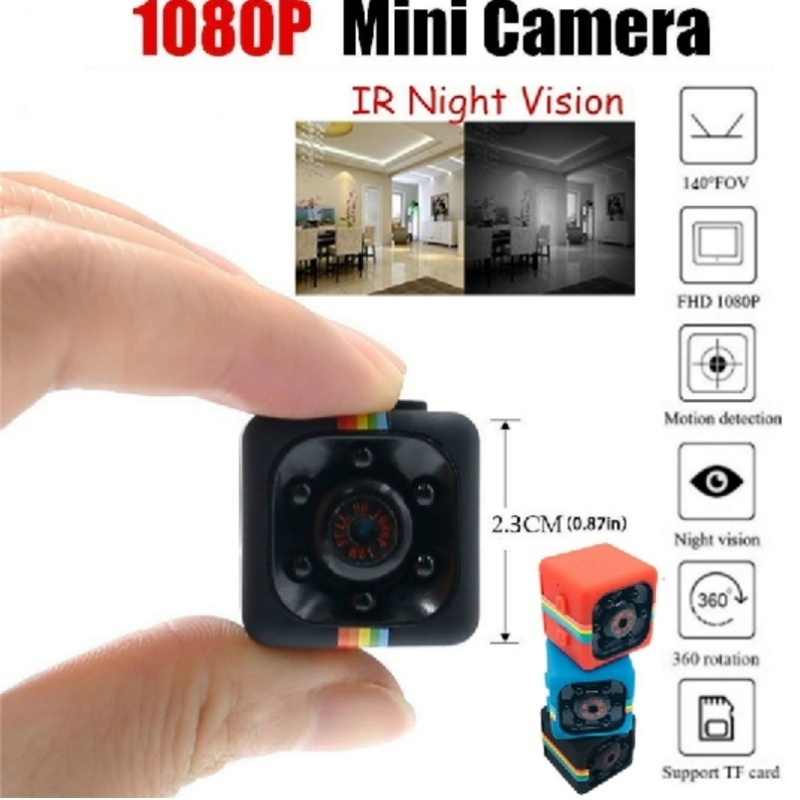 1080P SQ11 Mini Camera Night Vision Camcorder Car DVR Infrared Video Recorder Digital Camera Support TF Card DV Camera Black1080P SQ11 Mini Camera Night Vision Camcorder Car DVR Infrared Video Recorder Digital Camera Support TF Card DV Camera Black