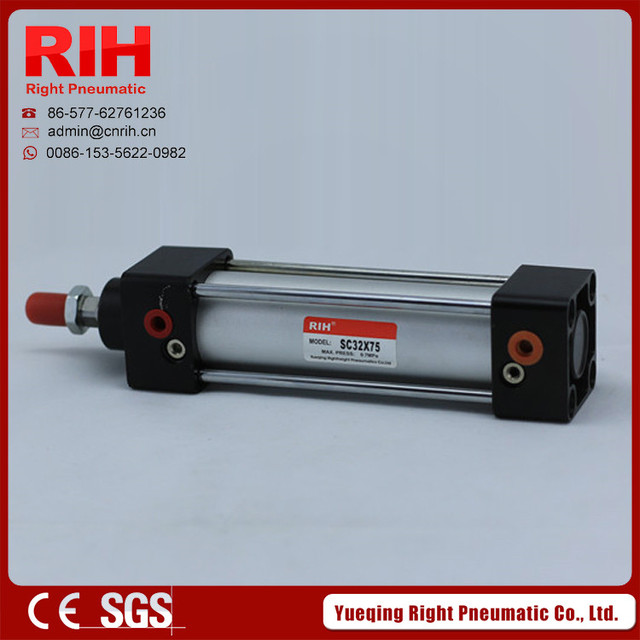 Right Pnematics High  Quality SC air pneumatic cylinder  SC series cylinder SC40*50 Bore 40mm stoke50 mm (made in china)