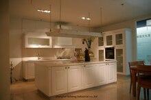 PVC/vinyl kitchen cabinet(LH-PV077)