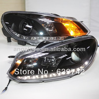Golf 6 LED Head Lights with Projector Lens 2009 2012 year SN