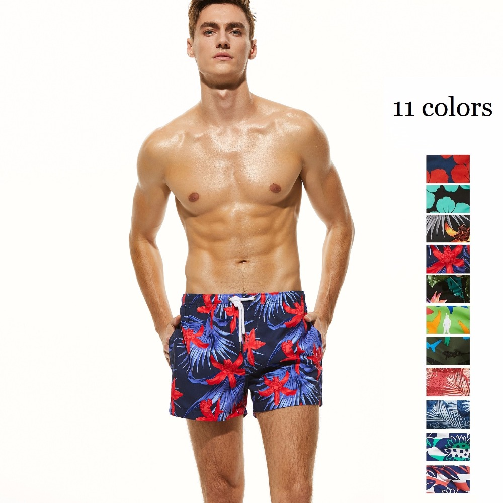 BRAND NEW SEOBEAN 2018 COLORFUL MENS   BOARD     SHORTS   CASUAL SUMMER BEACH   SHORTS   SMALL BOXER   SHORTS   11 COLORS