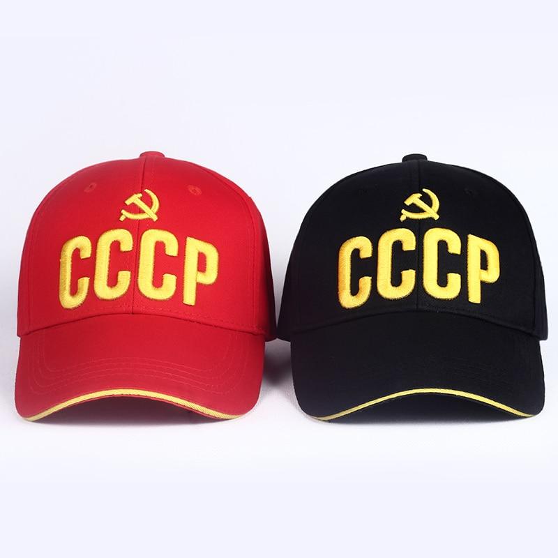 VORON new CCCP USSR Russische Hot Koop Stijl Baseball Cap Unisex Cap 3D embroidery borduren Beste kwaliteit Cap hats