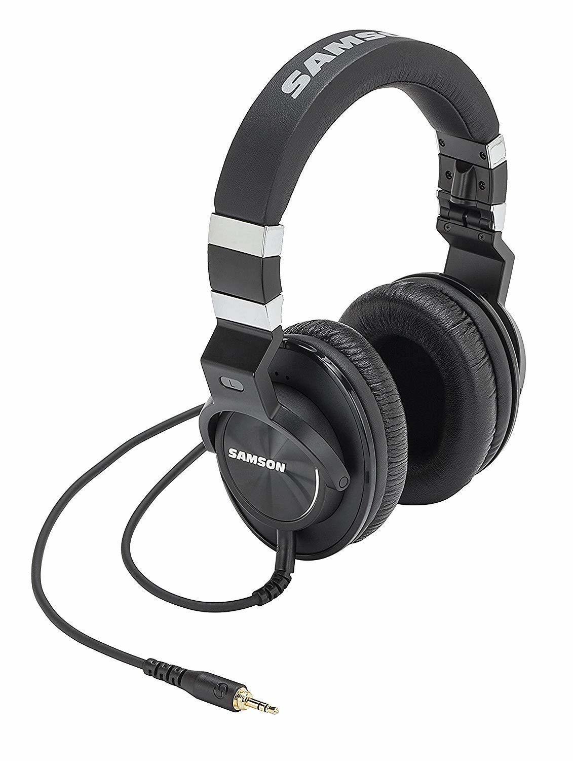 Samson Z55 Closed Back Over-Ear Professional Studio Reference Headphones Recording Mixing Audiophile Monitor Music
