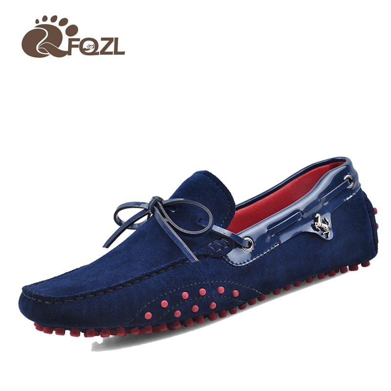 Men's shoes 100% Genuine Leather Driving Shoes,2019 New Moccasins Handmade Shoes,Brand Design Flats Loafers For Men