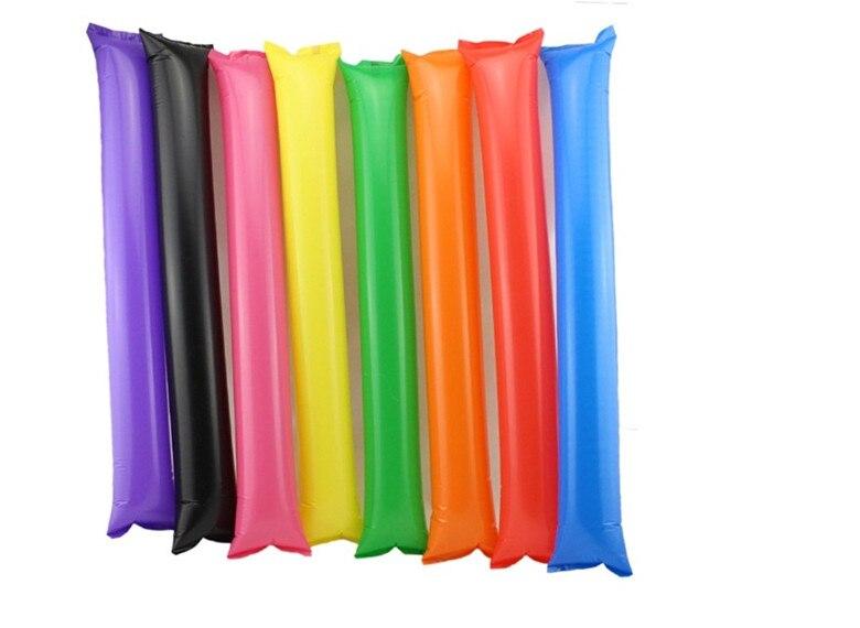 300pcs Long inflatable ballon candy refueling sticks long balloon cheering party supplies celebration plastic ballon