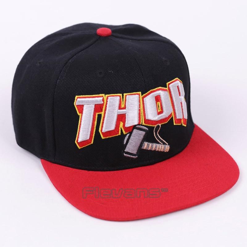 Mens di Modo di Snapback Caps Hip Hop Marvel Avengers Thor cappello  Regolabile Berretto Da Baseball in Mens di Modo di Snapback Caps Hip Hop  Marvel Avengers ... b016276bef4d