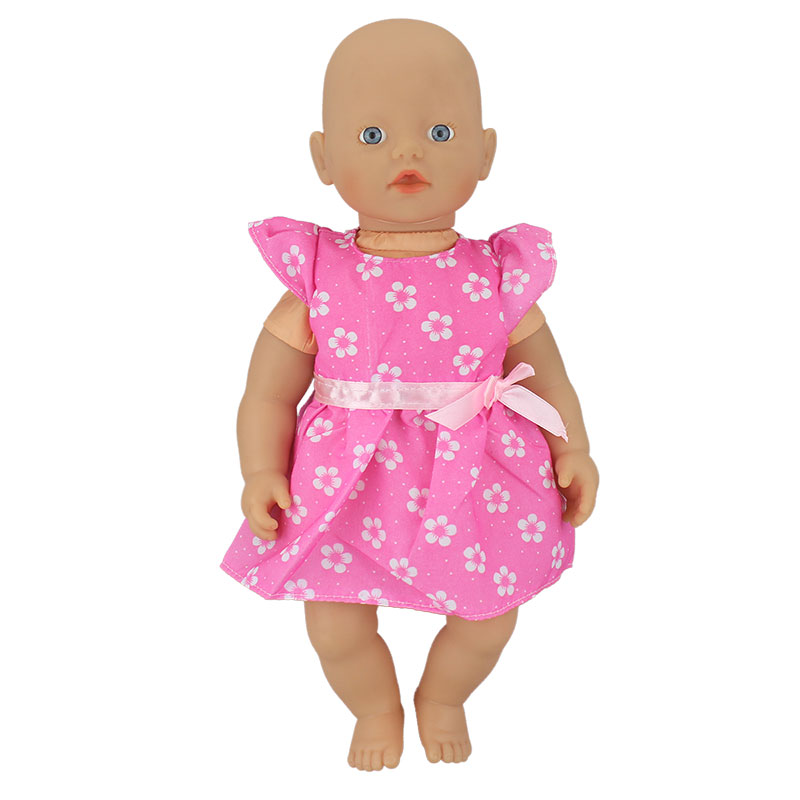 New Dress Wear for 32cm My little Baby Born Doll 13 Inch Dolls Clothes