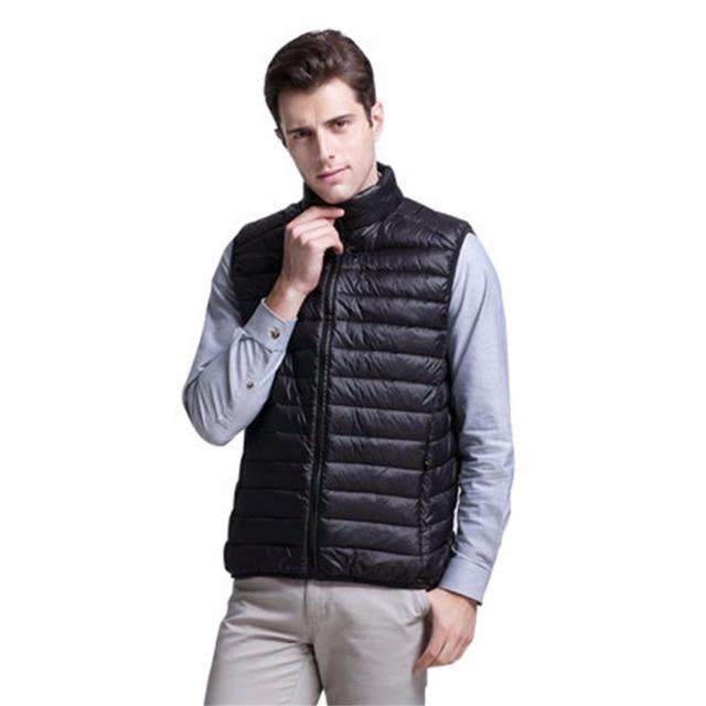 Shanghai Story Mens Vogue Packable Ultralight Down Vest Outdoor Puffer Vest