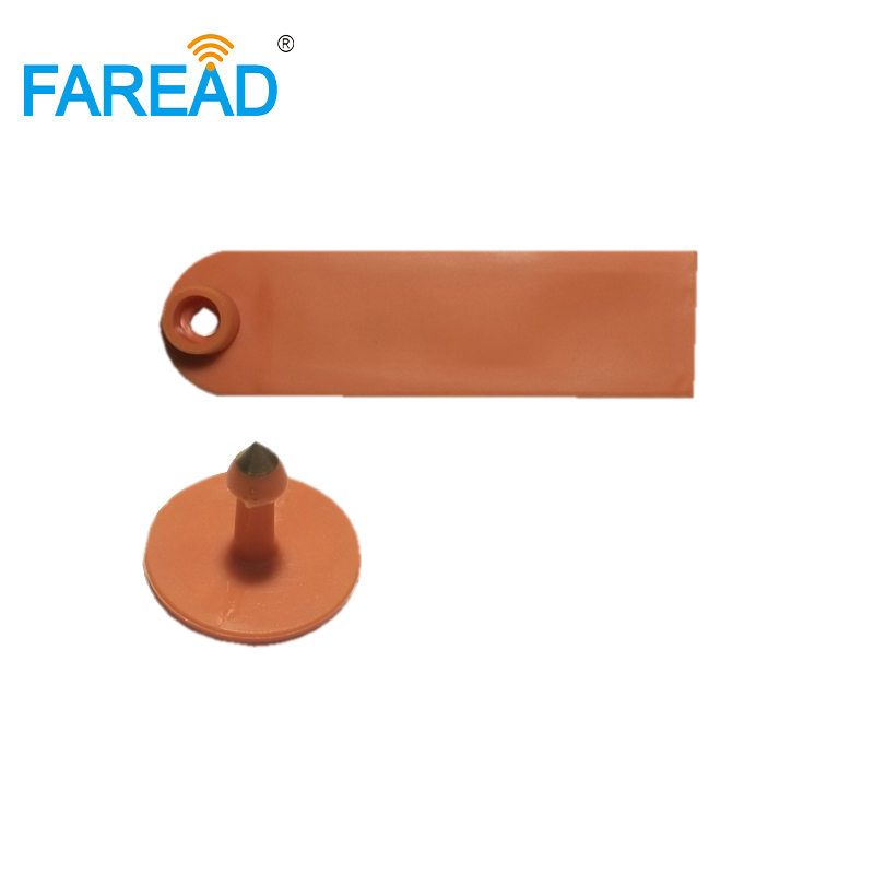 Best Quality X10pcs RFID Animal Sheep Ear Tag UHF 860-960MHz Passive Tag For Livestock Identification ISO18000-6C Standard