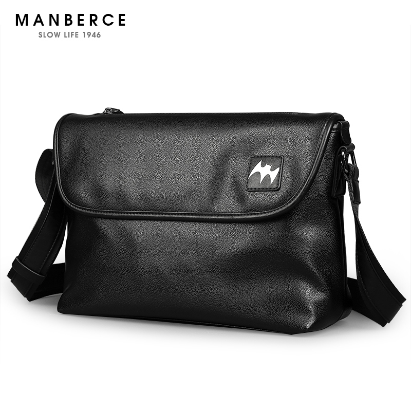 2018 New Hot Men Shoulder Bags MANBERCE Brand Youth Fashion Messenger Bag  Men s Business Casual Travel Bags Free Shipping 5ff943f59dc