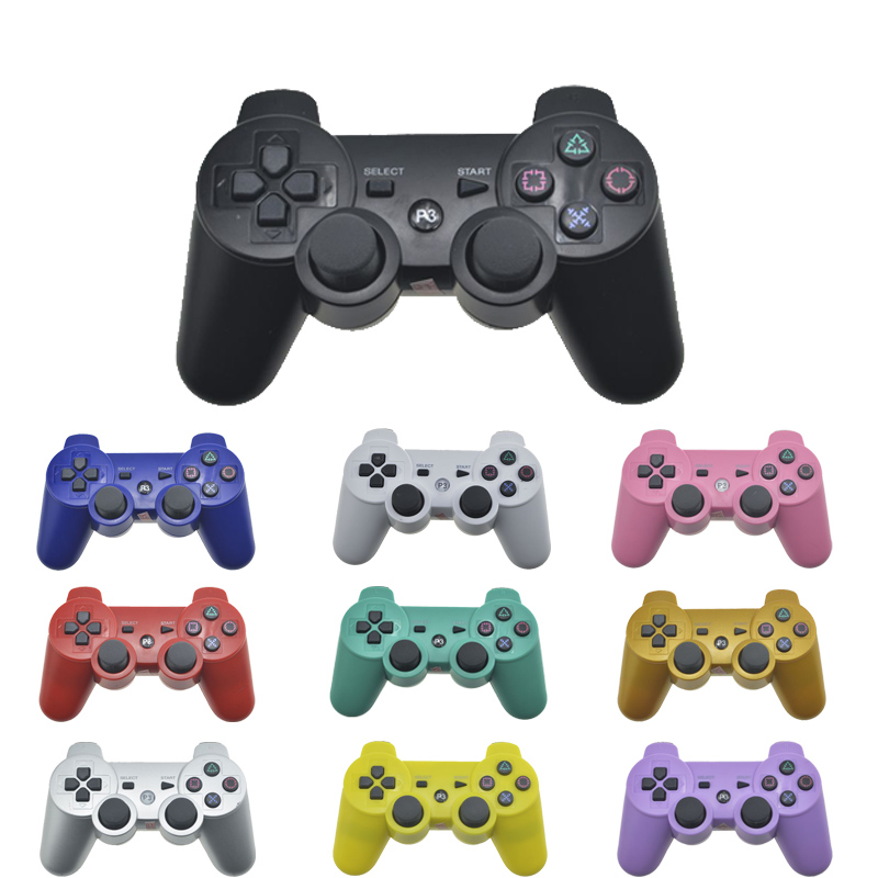 Wireless Bluetooth Remote Game Joypad Controller For PS3 Controle Gaming Console Joystick For PS3 Console Gamepads For PC bluetooth multifunction remote controller vr console white